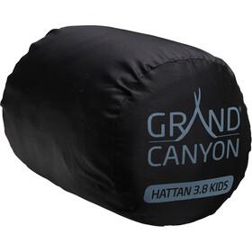 Grand Canyon Hattan 3.8 Materassino autogonfiabile Bambino, turchese